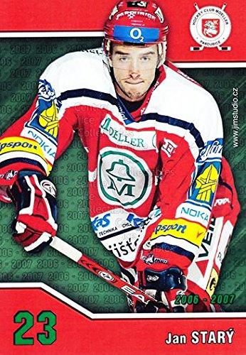 fan products of (CI) Jan Stary Hockey Card 2006-07 Czech HC Pardubice Postcards 24 Jan Stary