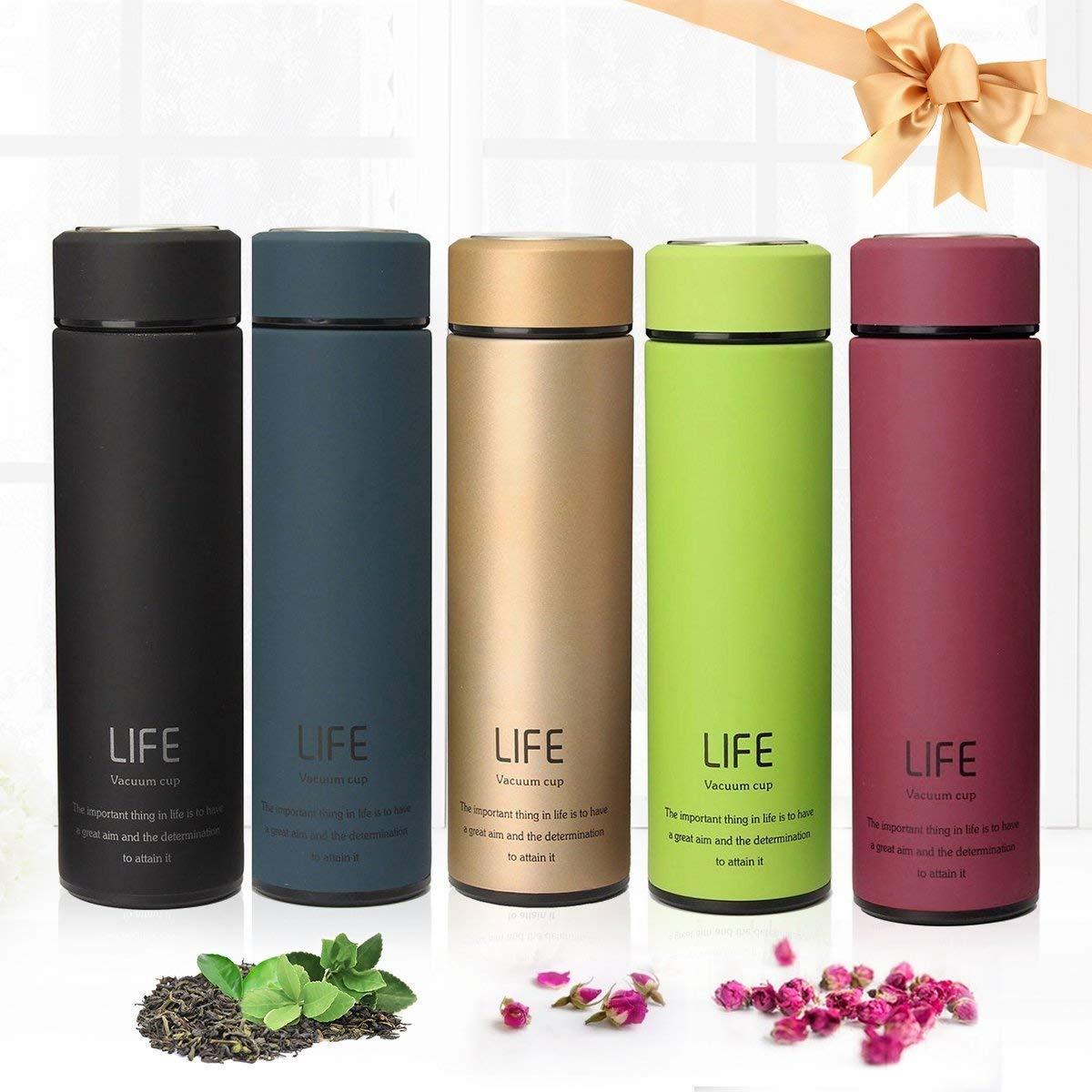 Acier Inoxydable Bouteille D/'eau Vide Tasse thermos café potable Tumbler Mug NEUF