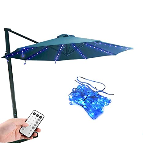 Amazoncom Koffmon Umbrella Lights 8 Lighting Mode 104 Led With