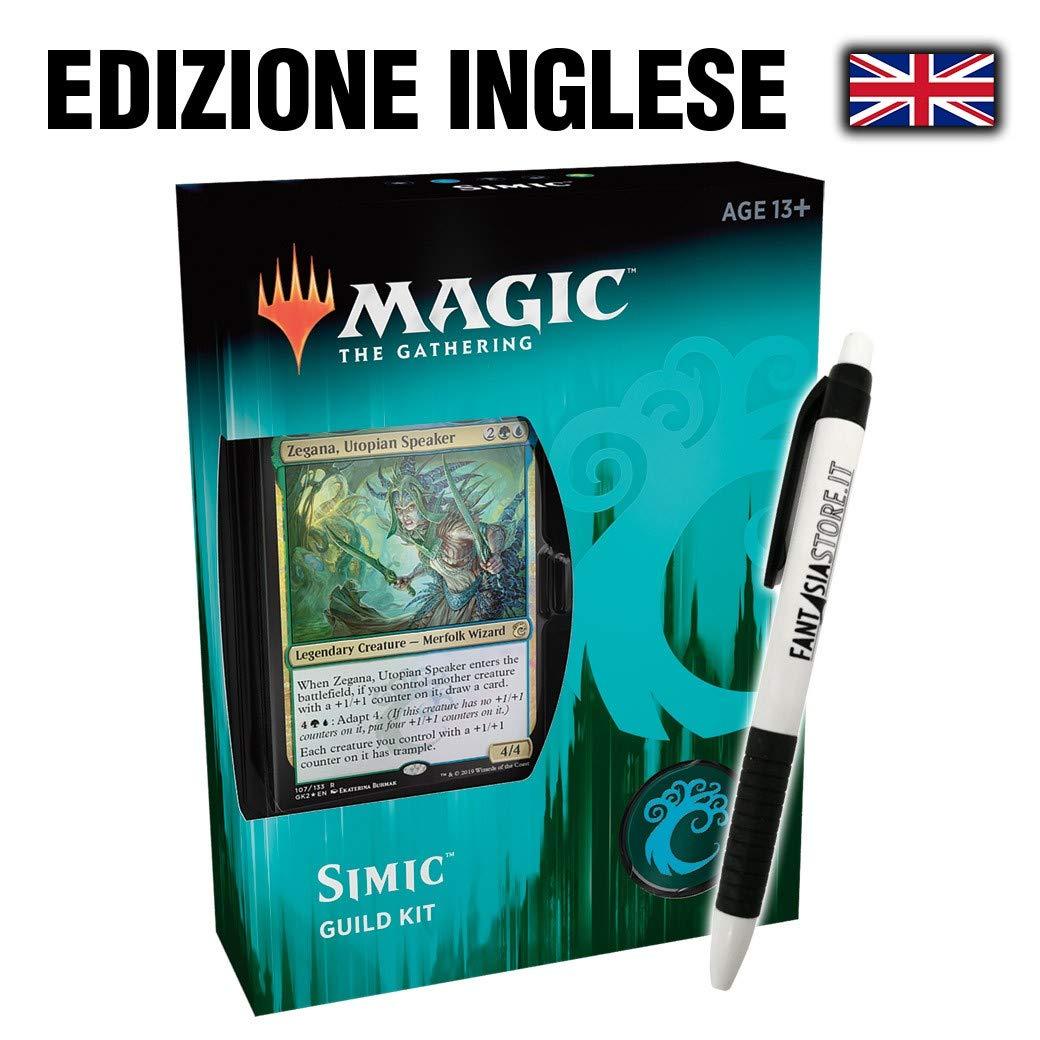 Simic - Ravnica Allegiance Guild Kit (EN) + Fantàsia Pen B07MXHLCV4 Packs & Sets Abrechnungspreis | Vorzugspreis
