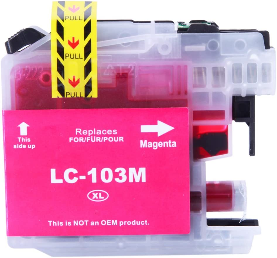 10pcs LC103XL Ink Cartridge 4BK//2C//2M//2Y for Brother