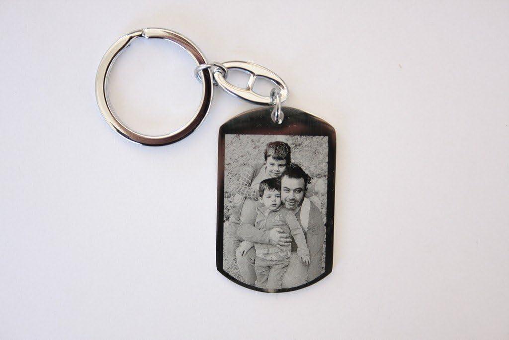 Llavero Militar Personalizado, con Foto, Retrato, Texto para Regalo, Original: Amazon.es: Equipaje