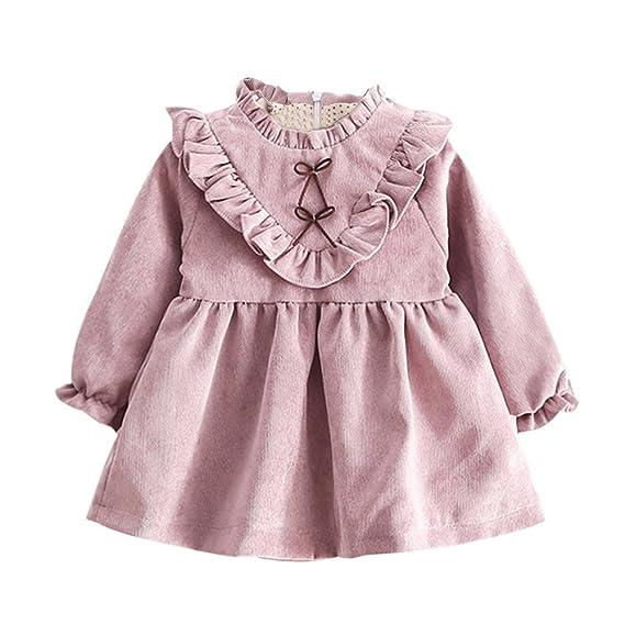 K-youth Vestidos Bebe Niña, Recién Nacido Bebé Niñas Tutú Princesa ...