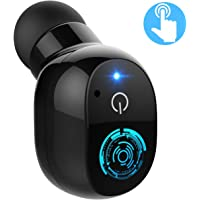 Mpow Wireless Mini Bluetooth Earbud, V4.2 Touch Control Bluetooth Headphone with Mic, Bluetooth Earpiece with 2 USB Magnetic Charger, Bluetooth Earphone for Phone, Samsung, LG, iOS, Android (1 pc)