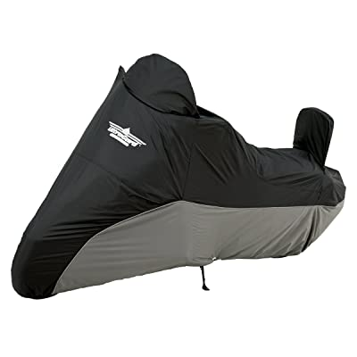 UltraGard 4-459BC Black/Charcoal Cruiser Motorcycle Cover: Automotive