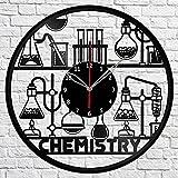 Chemistry Science Vinyl Record Wall Clock Fan Art Handmade Decor Original Gift Unique Decorative Vinyl Clock 12″ (30 cm) Review