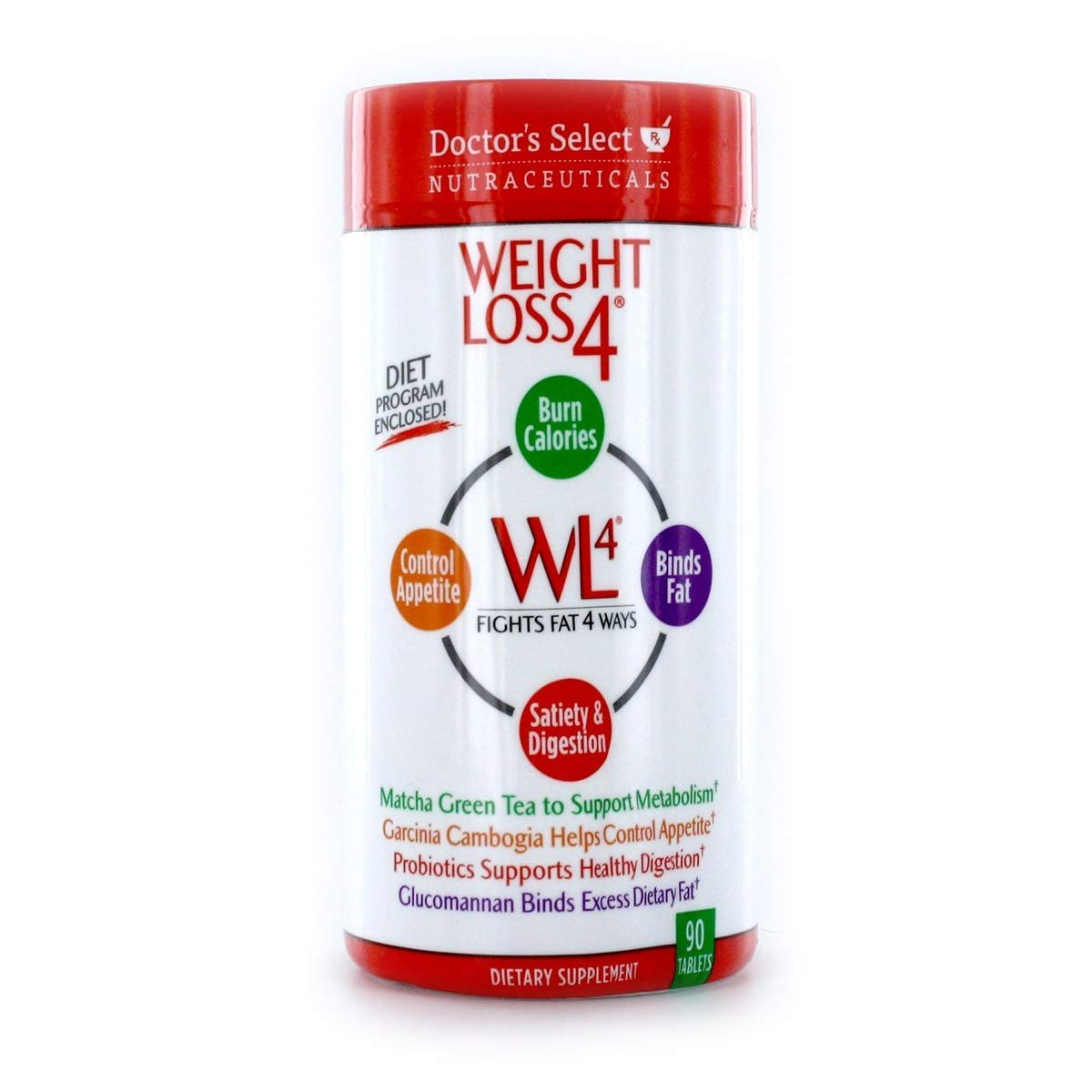 Doctor's Select Weight Loss 4, Tablets 90 ea (Pack of 3) by Doctor's Select
