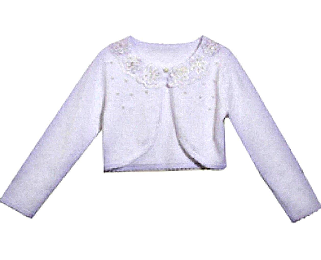Formal White Communion Sweater (14)
