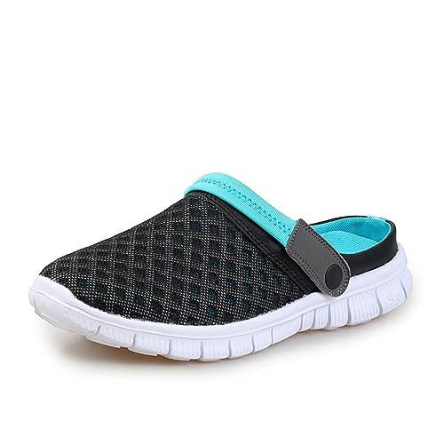 DoGeek Zuecos del Verano de Malla Transpirable Zapatos Zapatillas de Playa Ahueca Hacia Fuera Las Sandalias Barato Venta más nuevo Liquidación Sneakernews H8pajI