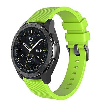 BarRan Correa para Huawei Watch GT, 22MM Quick Release Edición Especial Deportes Recambio de Pulseras Ajustable Accesorios para Huawei Watch 2 ...