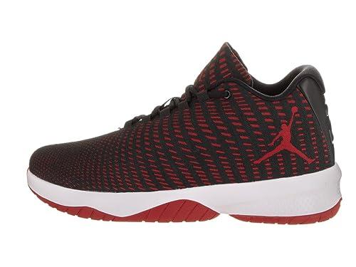 70fec3d3d00e Jordan Men s B. Fly Black Gym Red Dark Grey White Basketball Shoe 12 Men US   Buy Online at Low Prices in India - Amazon.in
