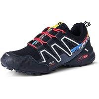 WANDER EU Zapatillas de Senderismo Hombre Aire Libre y Deporte Zapatillas de Malla Transpirables Zapatillas de Trabajo…