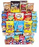 Cookies Chips & Candies Variety Pack Bundle Assortment Includes Cheez-It's Goldfish Laffy Taffy Rice Krispy Treats Chex Mix Oreos & More Bulk Sampler 40 Count