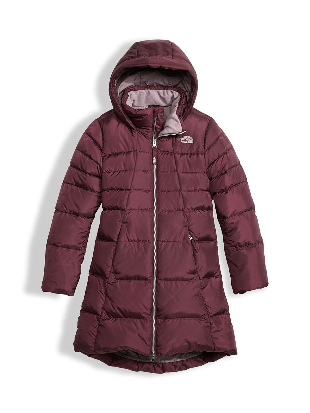 The North Face Youth Girls' Elisa Down Parka - zinfandel red, xs/6