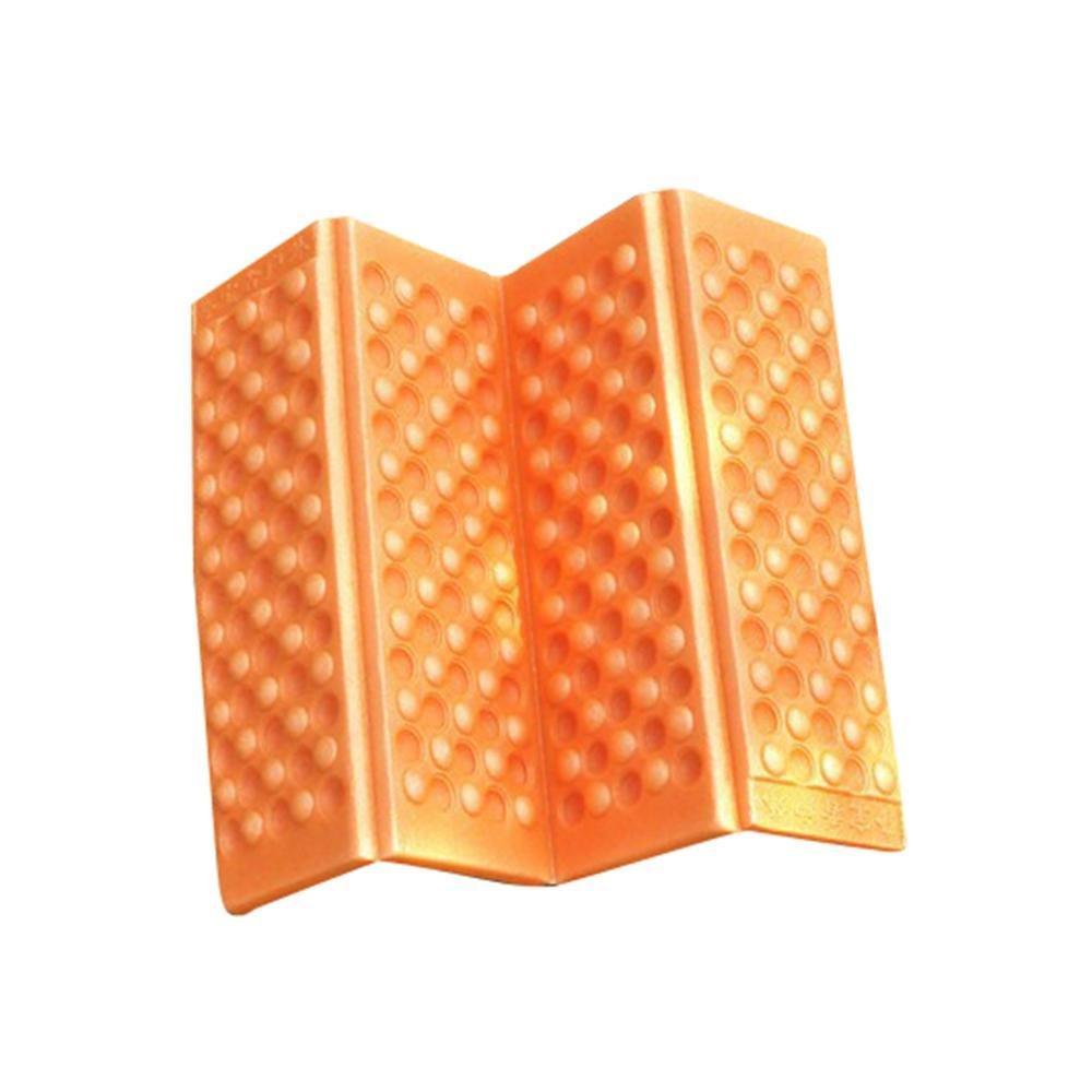 niceeshop ( TM )キャンピングシートマット、折りたたみ式Foam DampproofクッションパッドポータブルピクニックChair Mat Sleepingパッド B072L7CSMV  オレンジ