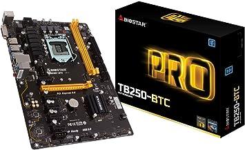 Biostar 198118 Motherboard Tb250-btc Core I7/i5/i3 Lga1151 B250 Ddr4 Sata Pci Express Usb Atx Retail