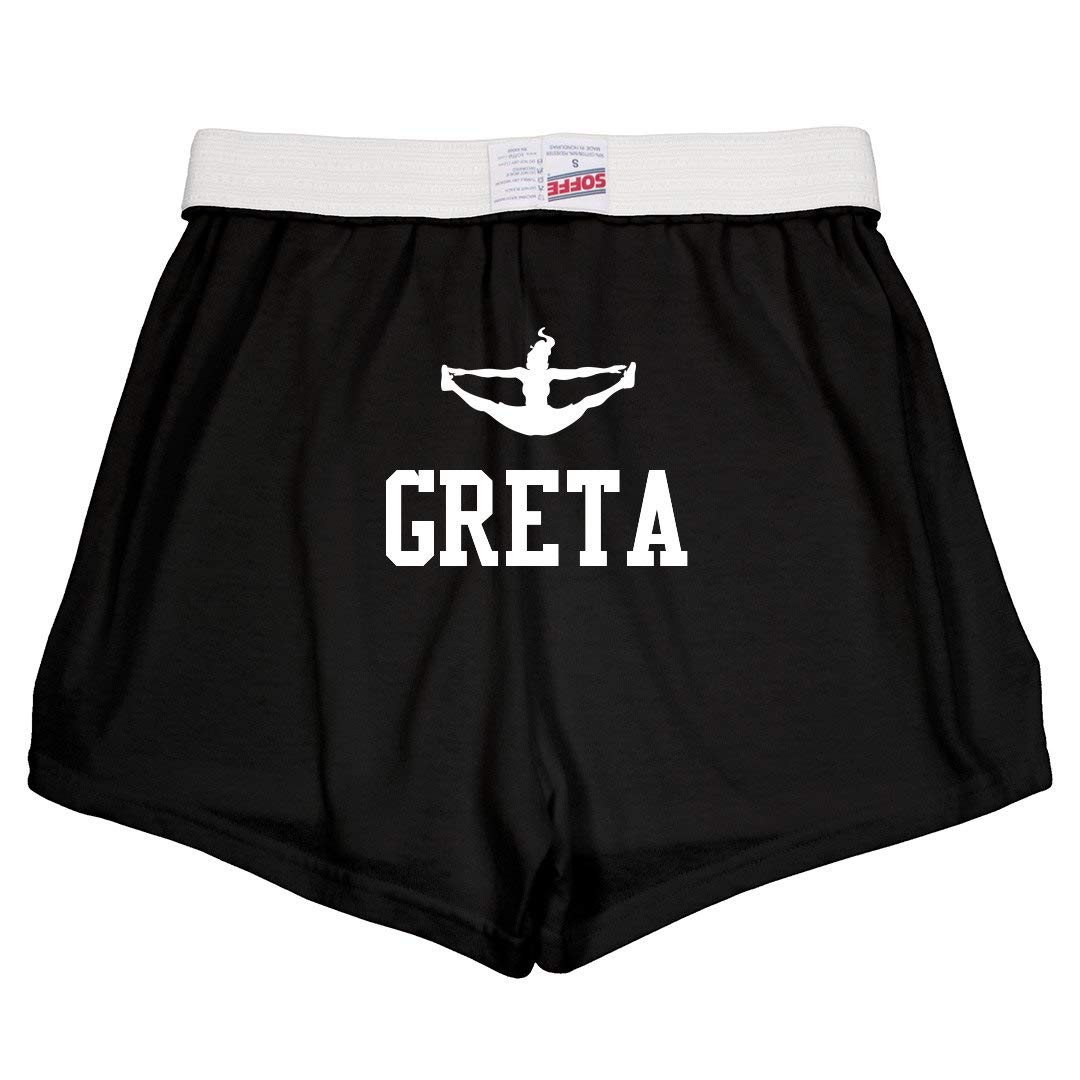 Greta Cute Cheer Practice Youth Soffe Shorts