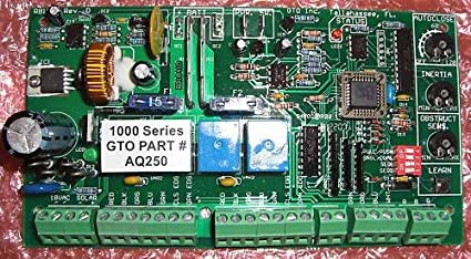 gto pro1000 control board aq250 gto pro 1000 circuit board aq250 rh amazon com Circuit Board Audio Control Board
