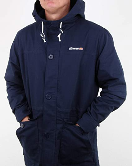 select for best cheap price structural disablities ellesse Explorer Jacket Navy M: Amazon.co.uk: Clothing