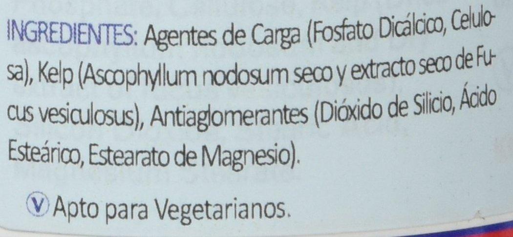 Lamberts Yodo 150ug, Extracto de Kelp - 500 Tabletas: Amazon.es: Salud y cuidado personal