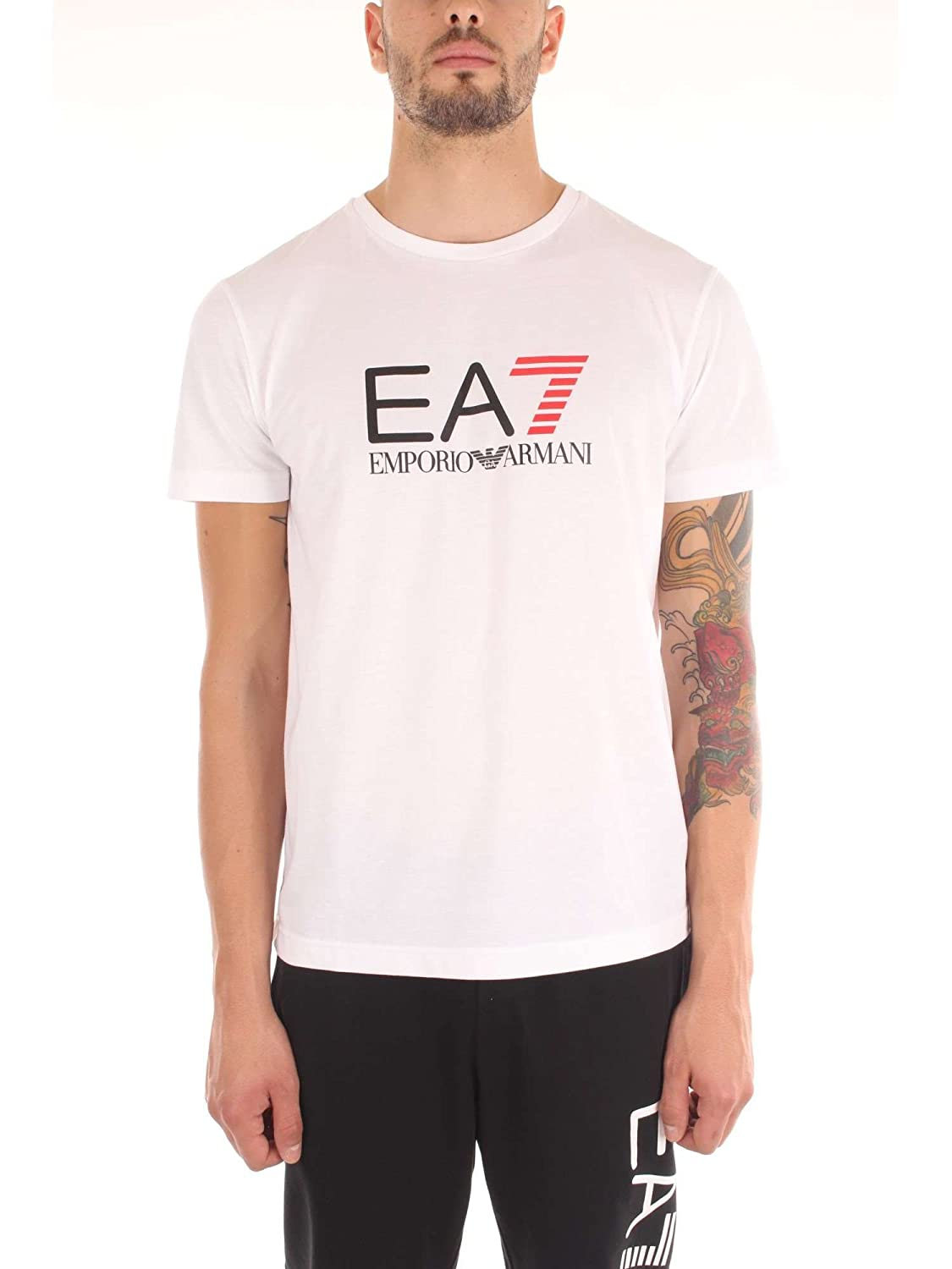 Emporio Adosmanos 6yptc0 Low Armani co Ea7 Shirt Homme cr Cost T 1ExqfaPw
