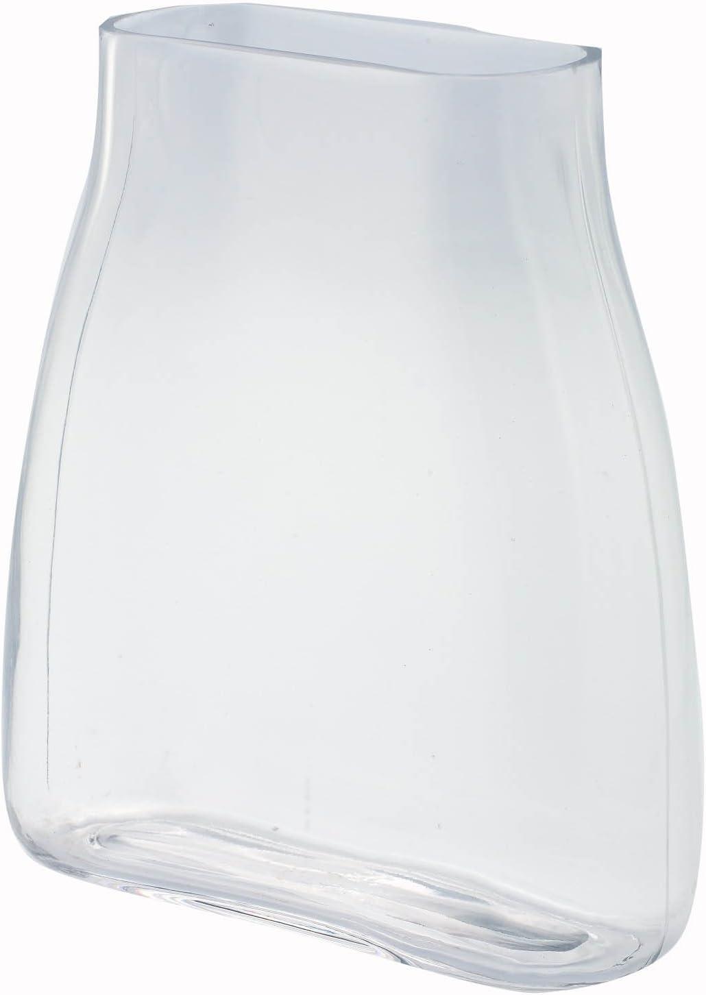 Amazon Com Diamond Star Glass 9 X3 5 X10 Clear Vase Home Kitchen