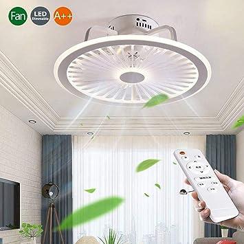 Ventilador De Techo Con Iluminación Control Remoto Regulable 56W ...