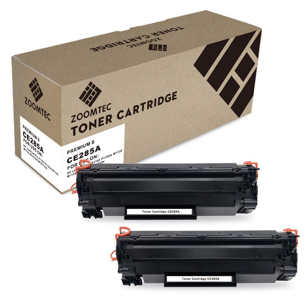 ZOOMTEC CE285A 85A Cartucho de Toner Compatible para HP Laserjet ...