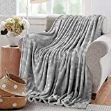 PearlRolan Swaddle Blanket,Grey Decor,Puzzle Like Pattern with Symmetric Fractal Pieces in Smokey Tones