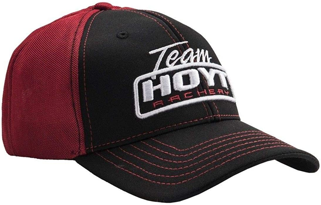 3a949f3cfe9 Hoyt Archery Team Hoyt United Black   Red Cap at Amazon Men s ...