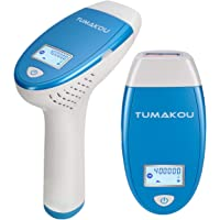 IPL Hair Removal System - TUMAKOU Painless IPL Hair Removal Device for Women & Man - FDA Approved - 400000 Flashes…