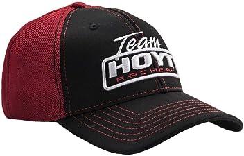 fc43388d55a Hoyt Archery Team Hoyt United Black   Red Cap