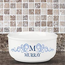 Personalized Family Name and Initial Popcorn Bowl