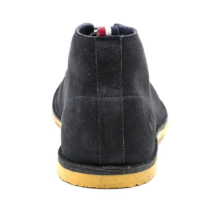 El Ganso Botín Guerrero Ante Marino Suela Mostaza - Botines, talla 39: Amazon.es: Zapatos y complementos