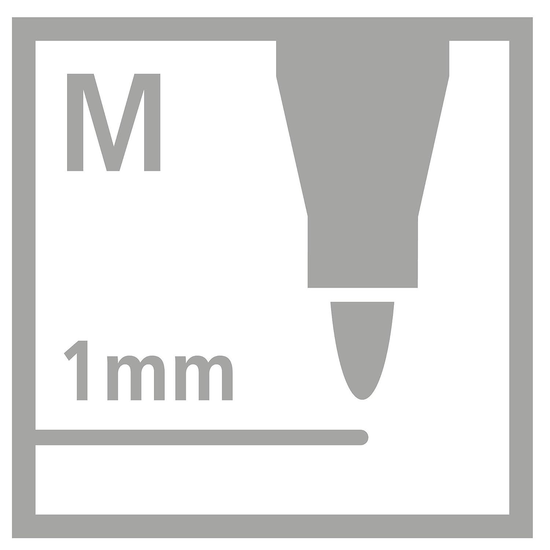 Rotulador STABILO Pen 68 Caja con 10 unidades Color azul fluorescente