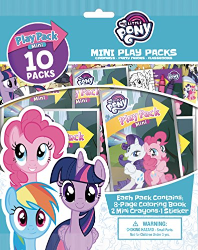 Bendon My Little Pony 10 Mini Play Packs ()