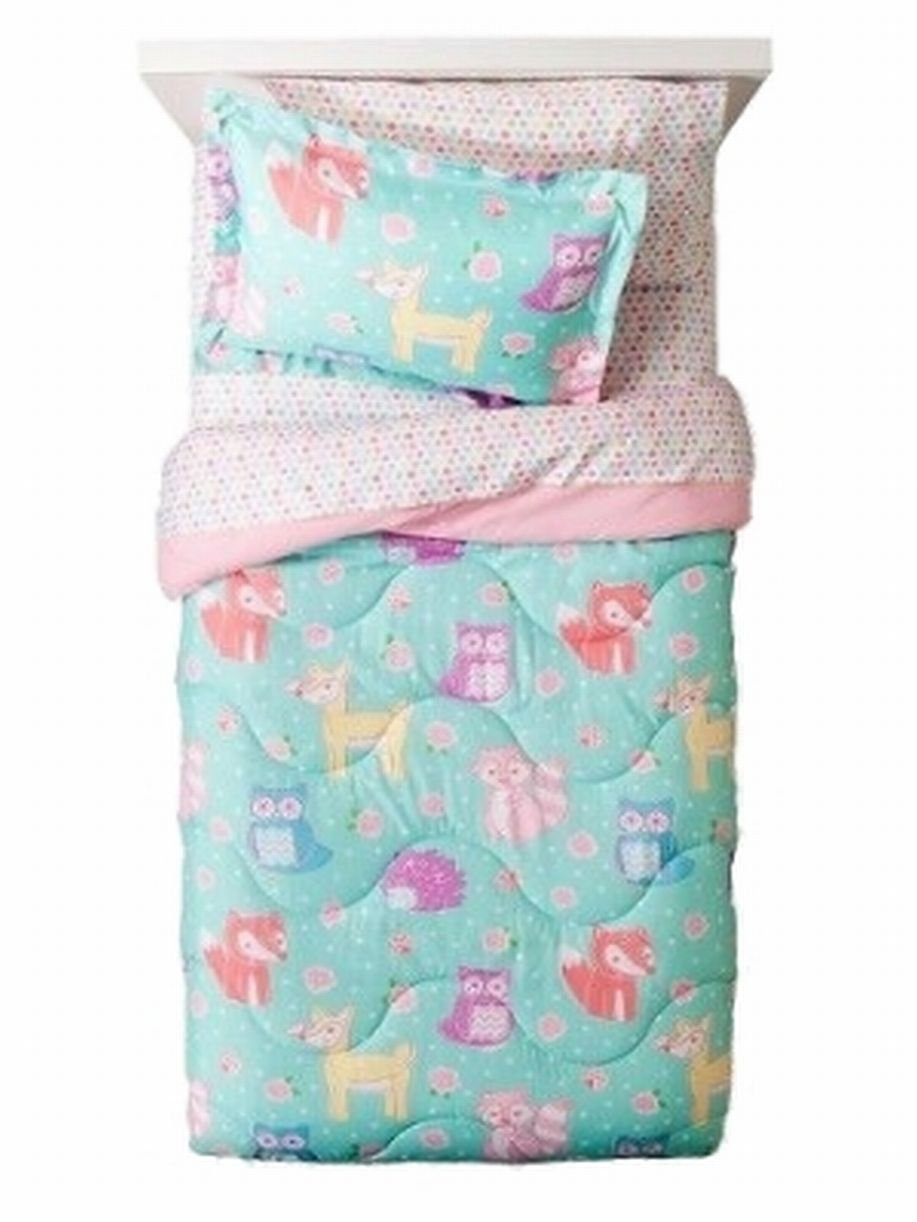 Circo Full Bed in a Bag Forest Forever Animals Comforter Set Sheets Shams 7 pc