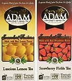 Adam Iced Tea Combo, Lemon/Strawberry, 300 Count