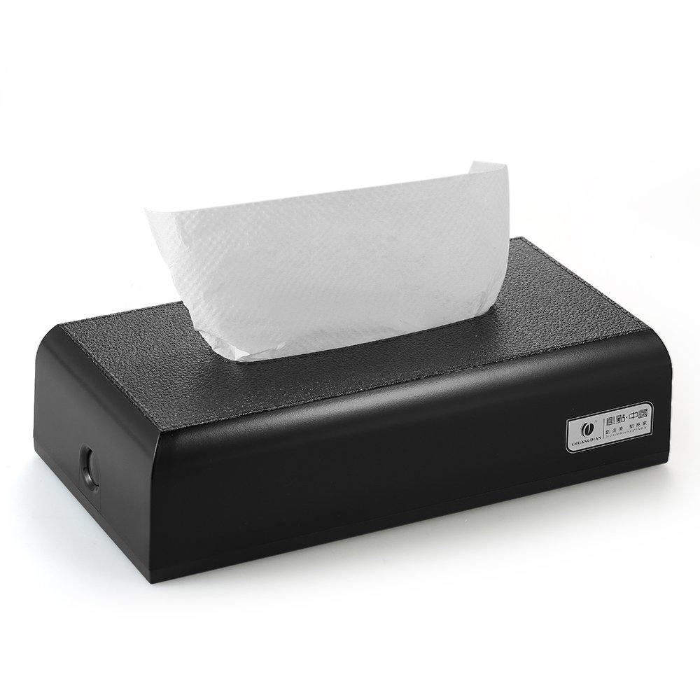 Decdeal CHUANGDIAN Tissue Box Portafazzoletti Carta del Tessuto Dispenser Scatola Tovagliolo Asciugamano Rettangolo Muro VDTAZ012