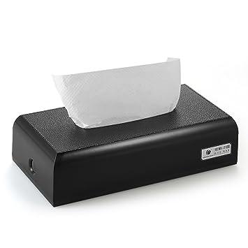 decdeal chuangdian Hotel Hogar Baño Dispensador de pañuelos de papel FACIAL caja para servilleta soporte para toallas para tablero de la mesa o pared: ...