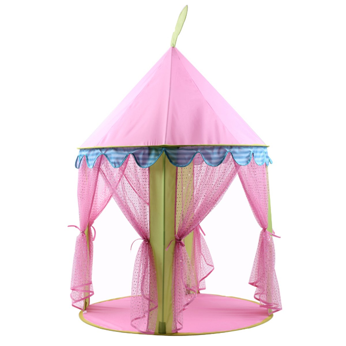 DreamU Princess Castle Play Tent House For Girls Indoor Outdoor Toy