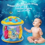 HOMOFY Baby Toys Ocean Park Rotating Projector,Various Pacify Music & Light,Super Fun,Early Educational Toys for 1 2 3 Year Girls and Boys Kids or Toddlers(BEST GIFTS)