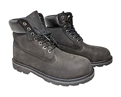 Boots Intelligent Mens Burgundy Construction Safety Durable Tough Work Shoes Leather Boots For Fast Shipping