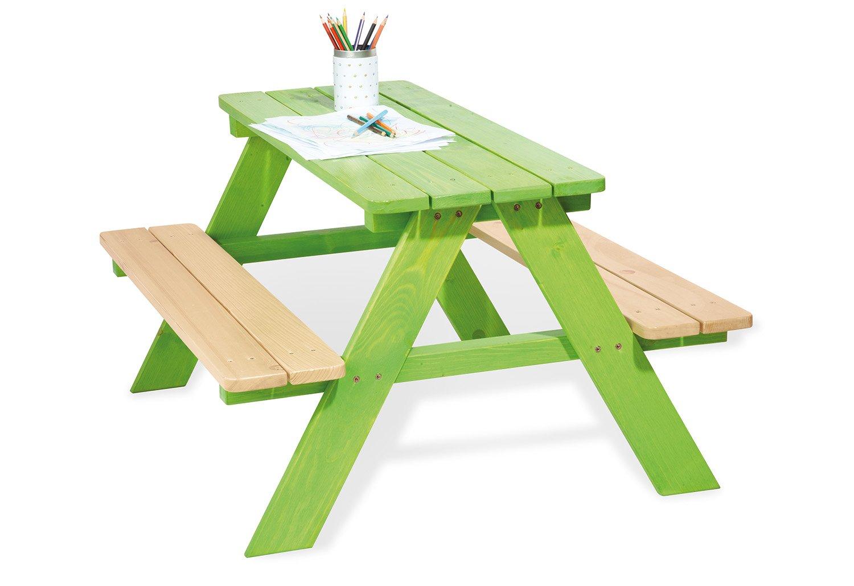 Pinolino Pique-Nique-Table 'Nicki pour 4 - Vert 201623