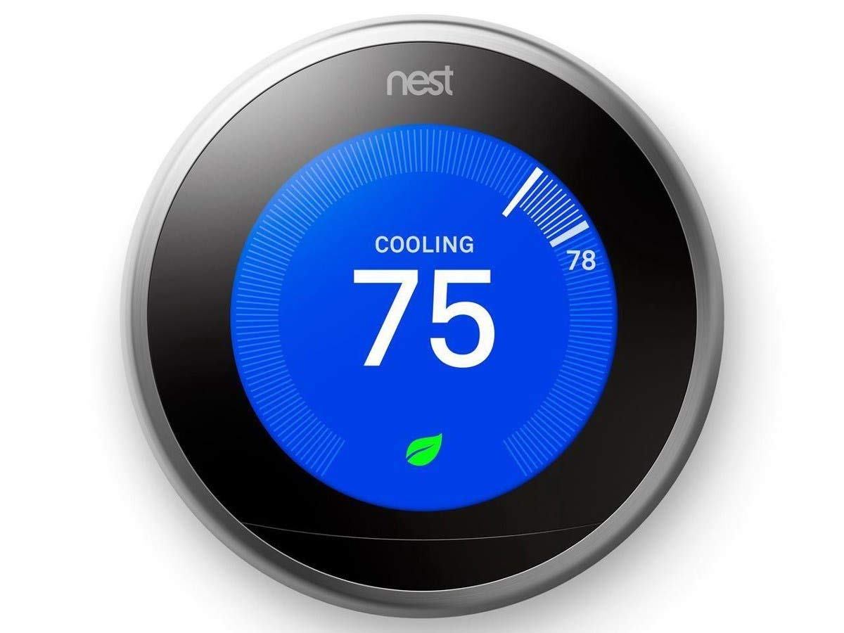 Nest Learning Thermostat - 3rd Generation, Stainless Steel T3007ES