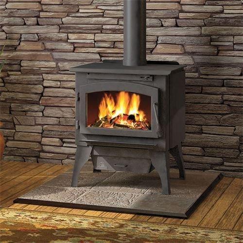 - Napoleon 2200 Medium Wood Burning Stove with Door