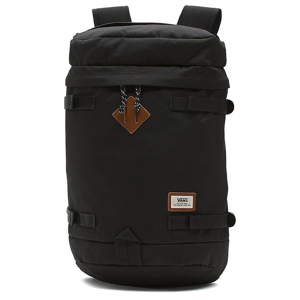 Vans Clamber Backpack Mochila, 51 cm, 26,5 l, Black: Amazon ...