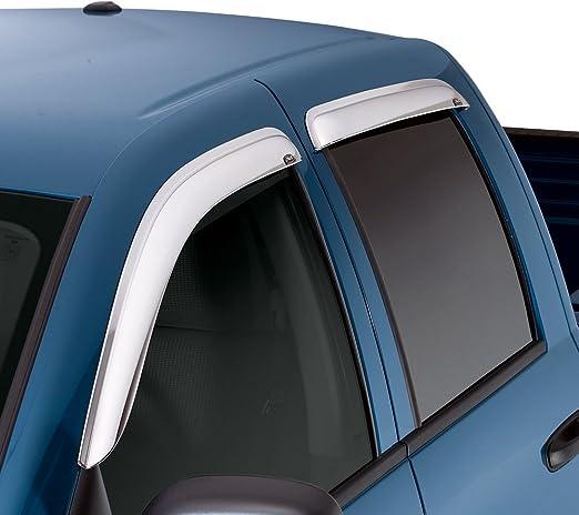 Auto Ventshade 684233 Chrome Ventvisor 4 Piece
