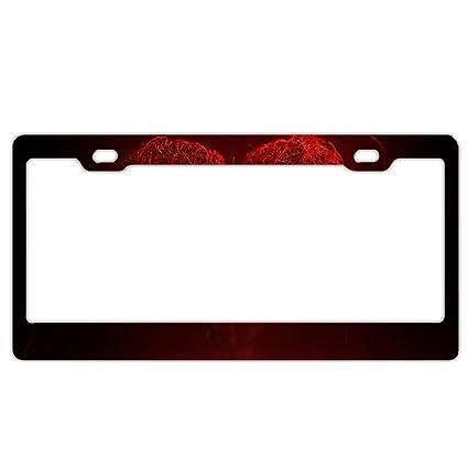 Amazon.com: Jailjack License Plate Frames, Valentines Day Aluminum ...