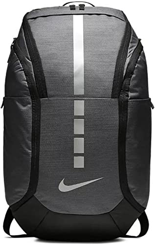 Nike Hoops Elite Pro Backpack DARK GREY BLACK MTLC COOL GREY